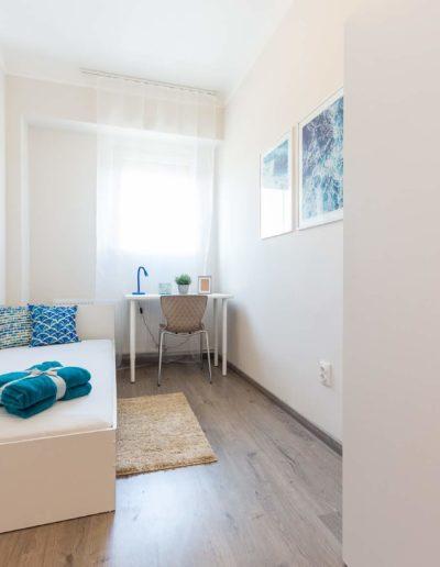 Hálószoba - kékkel